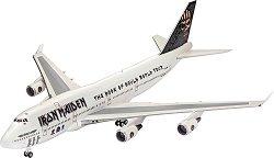 Пътнически самолет - Boeing 747-400 Ed Force One - Сглобяем авиомодел -