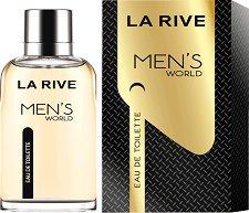 La Rive Men's World EDT - Мъжки парфюм - парфюм