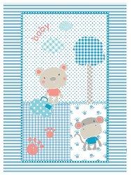 Бебешко одеяло - Fantasia - Размери 80 x 110 cm -