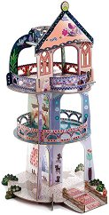 Кулата на чудесата - 3D картонен модел за сглобяване - играчка