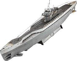 Германска подводница - Type IX C/40 U-190 - Сглобяем модел -