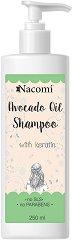 Nacomi Avocado Oil Hair Shampoo - Шампоан за коса с масло от авокадо и кератин -