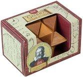 """Звездата на Галилео - 3D дървен пъзел от серията """"Great Minds"""" -"""