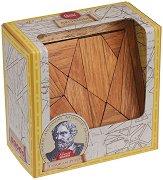 """Танграмът на Архимед - Логически дървен пъзел от серията """"Great Minds"""" -"""