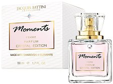 "Jacques Battini Moments Crystal Edition Parfum - Дамски парфюм от серията ""Swarovski Elements"" -"
