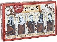 """Велики жени в историята - Пет логически 3D пъзела от серията """"Great Minds"""" -"""