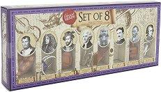 """Великите мъже в историята - Осем логически 3D пъзела от серията """"Great Minds"""" -"""