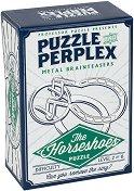 """The Horseshoes - 3D метален пъзел от серията """"Puzzle and Perplex"""" -"""