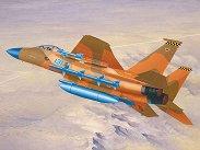 Изтребител - F-15 Eagle - Сглобяем авиомодел -