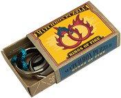 """Огнени пръстени - 3D метален пъзел от серията """"Matchbox Puzzle"""" -"""