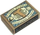 """T - Time Puzzle - 3D дървен пъзел от серията """"Matchbox Puzzle"""" -"""