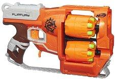"""Бластер - Zombie Strike - Комплект с 12 броя меки стрелички от серията """"Nerf"""" - играчка"""