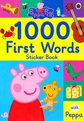 Peppa pig: 1000 First Words - пъзел
