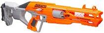 """Детска пушка - AlphaHawk - Комплект с 10 броя меки стрелички от серията """"Nerf"""" - играчка"""