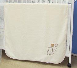 Бебешко одеяло - Мy Little Bear - Размери 80 x 110 cm -
