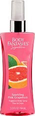 Body Fantasies Sparkling Pink Grapefruit - Дамски парфюмен спрей за тяло -