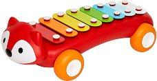 Ксилофон - Лисица - Детски музикален инструмент с 8 ноти -