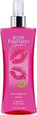 Body Fantasies Pink Vanilla Kiss Fantasy - Дамски парфюмен спрей за тяло -