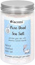 Nacomi Pure Dead Sea Bath Salt - Чисти соли за вана от Мъртво море - маска