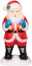 Светеща фигура - Дядо Коледа - Размер - 28 / 81 / 40 cm
