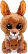 """Кенгуру - Kipper - Плюшена играчка от серията """"Beanie Boos"""" - играчка"""