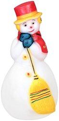 Светеща фигура - Снежен човек - Размер - 51 / 108 / 51 cm