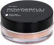 Aura Powderful Mineral Loose Powder - Прахообразна минерална пудра с матиращ ефект - руж