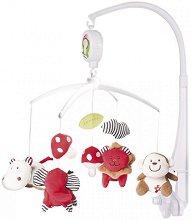 Музикална въртележка - Wild Africa - Играчка за бебешко креватче - играчка