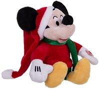 """Коледен Мики Маус - Музикална плюшена играчка от серията """"Мики Маус"""" -"""