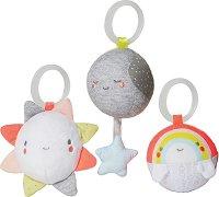 """Слънце, луна и дъга - Комплект от 3 играчки от серията """"Silver Lining Cloud"""" -"""