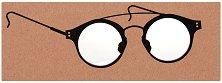 Книгоразделител с лупа за четене - The Academics -