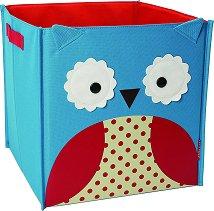 Кутия за съхранение на играчки - Бухалчето Отис - прибори
