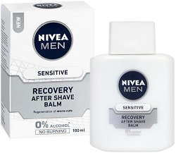 Nivea Men Sensitive Recovery After Shave Balm - дезодорант