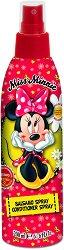 """Детски спрей балсам за коса без отмиване - Miss Minnie - От серията """"Мини Маус"""" - гел"""