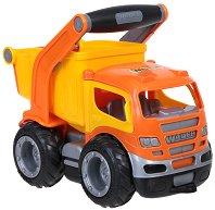 Камион - Самосвал с дръжка - Детска играчка - аксесоар