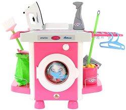 Детска перална машина - Комплект с аксесоари - играчка