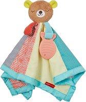 Меченце - Бебешка играчка за гушкане с дъвкалка -