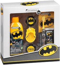 """Детски подаръчен комплект - С козметика от серията """"Батман"""" - крем"""