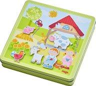 Ферма - Детски комплект с магнити - фигура