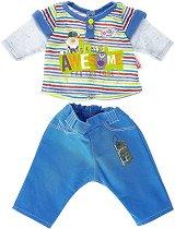 """Тениска с панталонки - Дрехи за кукли от серията """"Baby Born"""" -"""