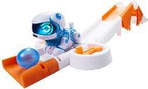 Куче-робот: Teksta Micro-Pets - Игрален комплект с писта - играчка