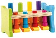 Игра с чукче - Детска играчка от дърво и пластмаса - играчка