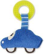 Количка - Мека бебешка дрънкалка с дъвкалка - играчка