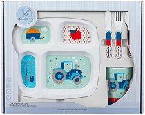 Детски комплект за хранене - Bobby - За бебета над 6 месеца -