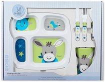 Детски комплект за хранене - Магаренцето Erik - За бебета над 6 месеца - продукт