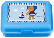 Детска кутия за храна - Слончето Erwin - С подвижен разделител -