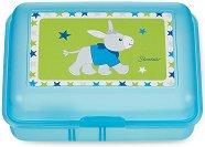 Детска кутия за храна - Магаренцето Erik - С подвижен разделител -