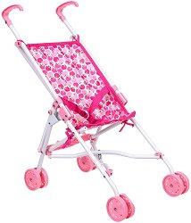 Сгъваема количка за куклa - Детска играчка -