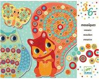 Мозайка - Животинки - Творчески комплект - играчка