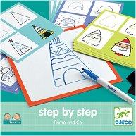 """Нарисувай сам - Primo - Творчески комплект от серията """"Step By Step"""" - кукла"""